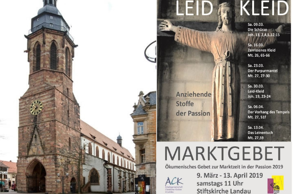 Marktgebet Collage 2019